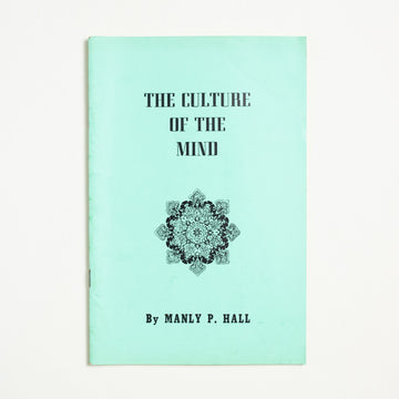The Culture of the Mind by Manly P.  Hall, The Philosophical Research Society, Booklet from A GOOD USED BOOK.  1966 No Stated Printing Non-Fiction California, Los Angeles