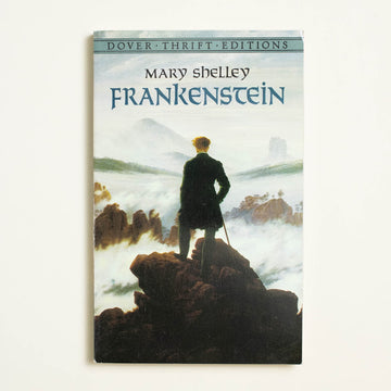 Frankenstein by Mary Shelley, Dover Publications, Trade Softcover from A GOOD USED BOOK.