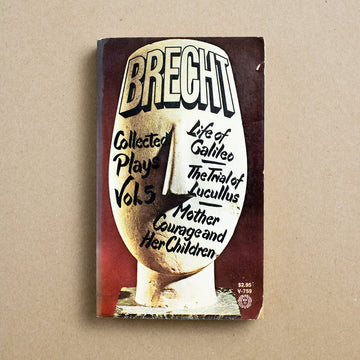 Collected Plays  by Bertolt Brecht, Vintage Books, Paperback from A GOOD USED BOOK.
