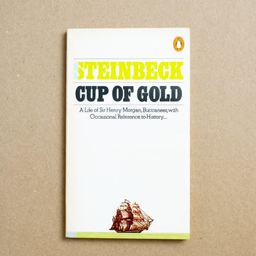 Cup of Gold by John Steinbeck, Bantam Books, Paperback from A GOOD USED BOOK.