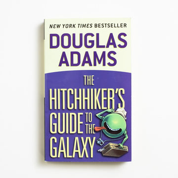 The Hitchhiker's Guide to the Galaxy by Douglas Adams, Del Ray Books, Paperback from A GOOD USED BOOK. Also known as HG2G, HHGTTG, or tHGttG,