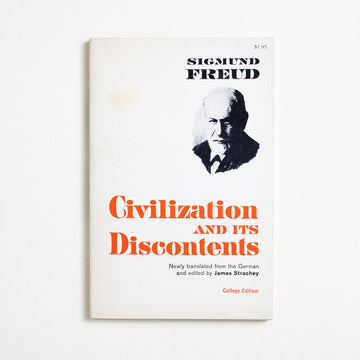 Civilization and its Discontents by Sigmund Freud, W.W. Norton & Company, Trade Softcover from A GOOD USED BOOK.  1962 1st American Edition Non-Fiction
