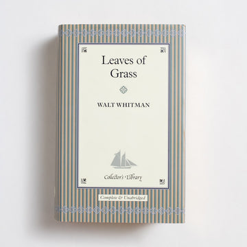 Leaves of Grass (Collector's Library) by Walt Whitman, Barnes and Noble Books, Small Hardcover w. Dust Jacket from A GOOD USED BOOK.  2004 1st Printing Classics