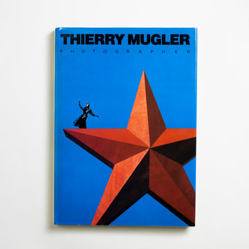 Manfred Thierry Mugler, Photographer by Thierry Mugler, Rizzoli, Large Hardcover w. Dust Jacket from A GOOD USED BOOK. This french fashion designer has designed tour  costumes for Beyonce, gala dresses for Kim  Kardashian, and a fragrance beloved by Hillary Clinton - but this is his first book of photography. 1988 No Stated Printing Art Fashion