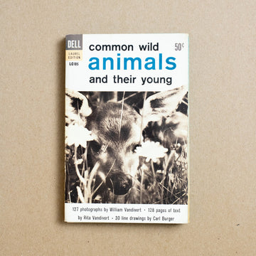 Common Wild Animals and Their Young by Rita Vandivert, Dell Publishing, Paperback from A GOOD USED BOOK.