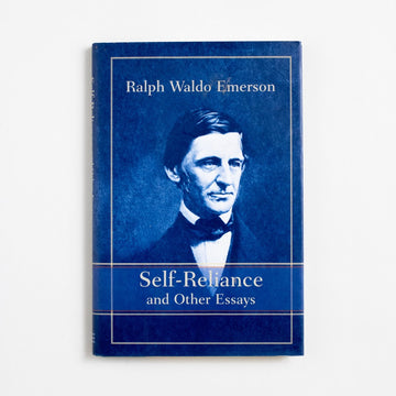Self-Reliance and Other Essays (Barnes and Noble Hardcover) by Ralph Waldo Emerson, Barnes and Noble Books, Hardcover w. Dust Jacket from A GOOD USED BOOK.  1995 5th Printing Classics Essays