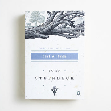 East of Eden (Trade) by John Steinbeck, Penguin Classics, Trade Softcover from A GOOD USED BOOK.  2002 4th Printing Literature California