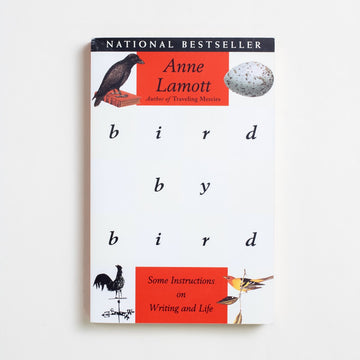 Bird by Bird by Anne Lamott, Anchor Books, Trade Softcover from A GOOD USED BOOK.  1995 25th Printing Non-Fiction