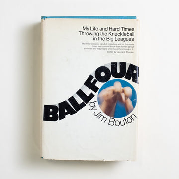 Ball Four: My Life and Hard Times Throwing the Knuckleball in the Big Leagues by Jim Bouton, The World Publishing Company, Hardcover w. Dust Jacket from A GOOD USED BOOK.  1970 7th Printing Non-Fiction Sports, Baseball