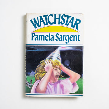 Watchstar (Hardcover) by Pamela Sargent, Pocket Books, Hardcover w. Dust Jacket from A GOOD USED BOOK. Pamela Sargent was a feminist, an anthologist,  and a Nebula award winning Science Fiction  author. Not to mention, a female collaborator of  George Zebrowski's on the