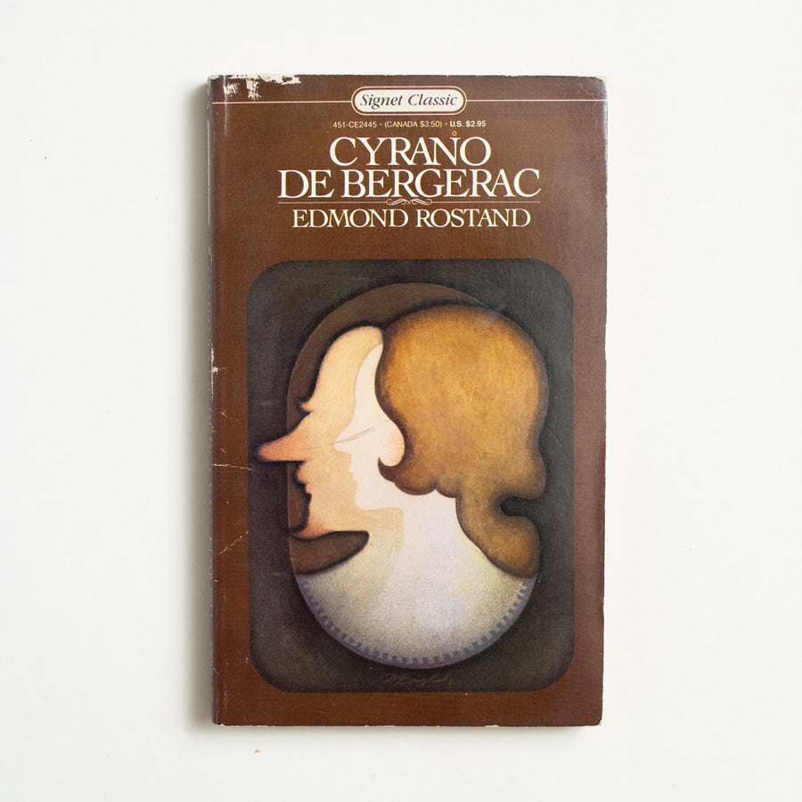 Cyrano De Bergerac by Edmond Rostand, Signet Classic, Paperback from A GOOD USED BOOK.  1980 9th Printing Classics