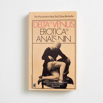 Delta of Venus by Anais Nin, Pocket Books, Paperback from A GOOD USED BOOK. This famous collection of Anain Nin's short work was originally composed for a private client in the 1940's, a man who commissioned erotic fiction from other authors as well, including Nin's lover - Henry Miller. 1990 1st Pocket Printing Literature