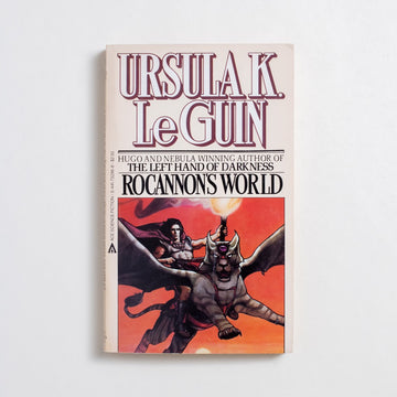 Rocannon's World by Ursula K. Le Guin, Ace Books, Paperback from A GOOD USED BOOK.  1874 12th Printing Genre
