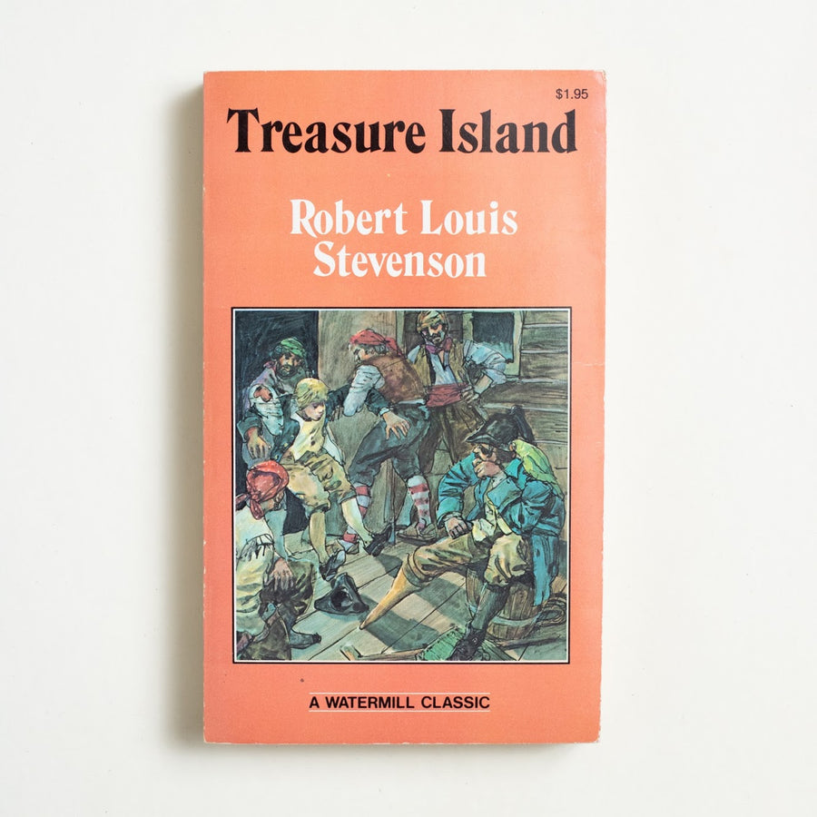 Treasure Island by Robert Louis Stevenson, Watermill Press, Paperback from A GOOD USED BOOK.  1980 No Stated Printing Literature