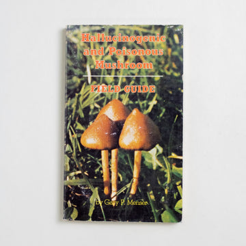 Hallucinogenic and Poisonous Mushrooms by Gary P. Menser, And/Or Press, Paperback from A GOOD USED BOOK.  1979 3rd Printing Non-Fiction Field Guides