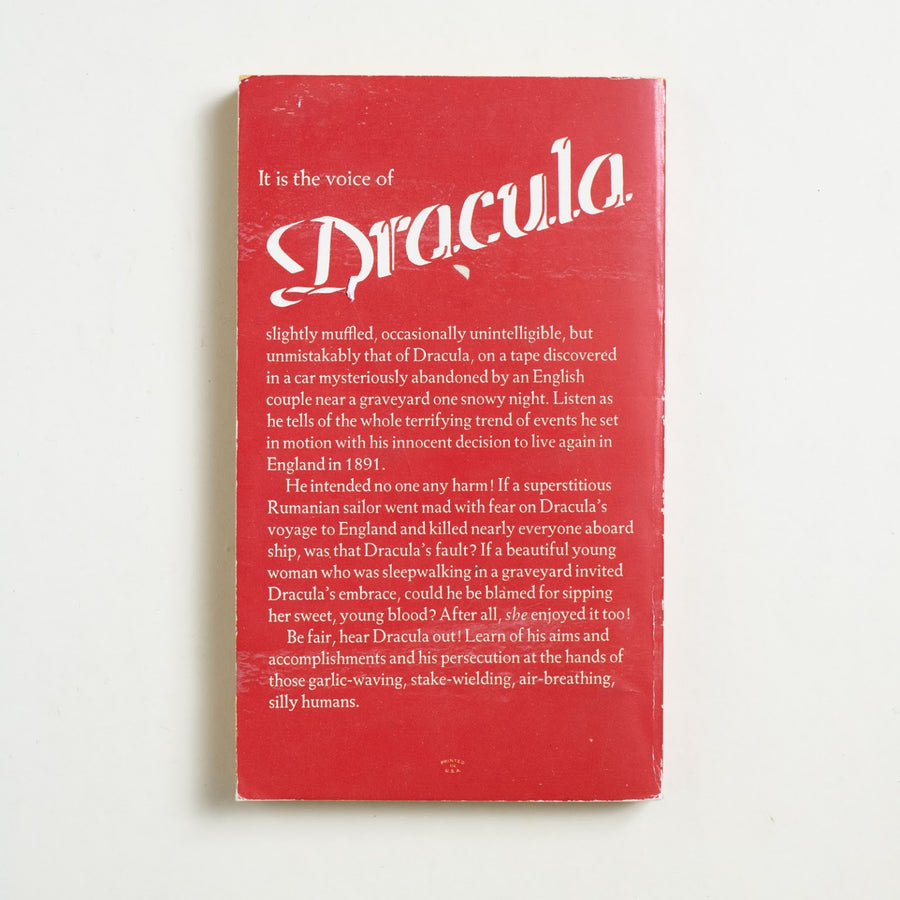 The Dracula Tape by Fred Saberhagen