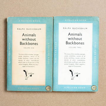 Animals Without Backbones (Vol. 1 & 2) by Ralph Buchsbaum, Pelican Books, Paperback Set from A GOOD USED BOOK.