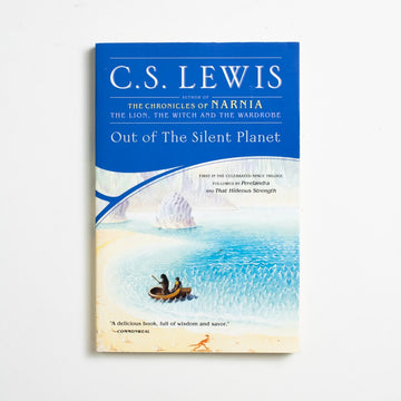 Out of the Silent Planet (Trade) by C.S. Lewis, Scribner, Trade Softcover from A GOOD USED BOOK.  2000 9th Printing Genre