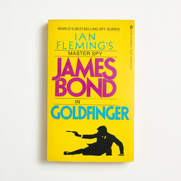 Goldfinger by Ian Fleming, Berkley Books, Paperback from A GOOD USED BOOK.  1983 5th Printing Genre James Bond