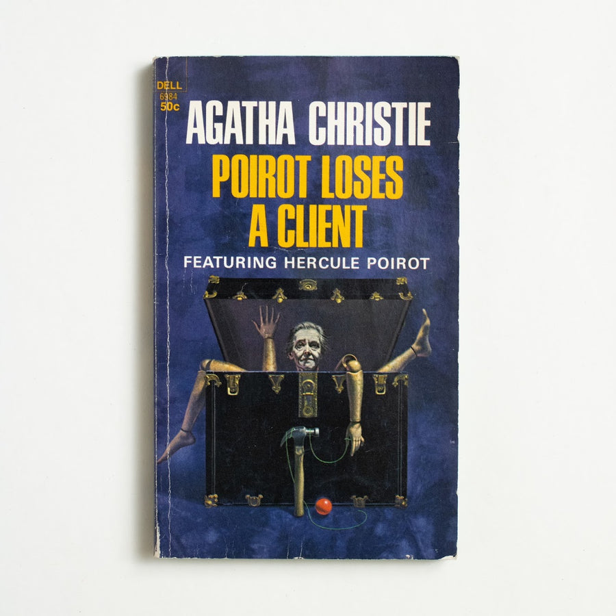 Poirot Loses a Client by Agatha Christie, Dell Publishing, Paperback from A GOOD USED BOOK.  1968 1st Printing Genre