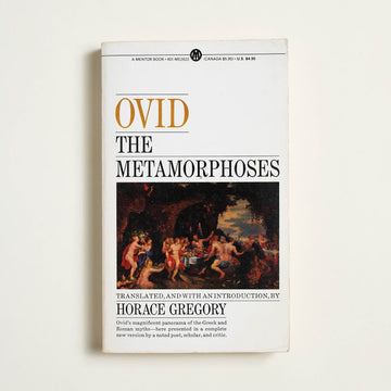 The Metamorphoses by Ovid, Mentor Books, Paperback from A GOOD USED BOOK.