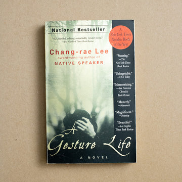 A Gesture Life by Chang-rae Lee, Riverhead Books, Trade Softcover from A GOOD USED BOOK.