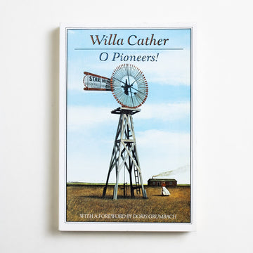 O Pioneers! (Trade) by Willa Cather, Houghton Mifflin, Trade Softcover from A GOOD USED BOOK.  1988 7th Printing Classics