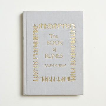 The Book of Runes Twenty-Fifth Anniversary Edition by Ralph H. Blum, St. Martin's Press, Hardcover w/o Dust Jacket from A GOOD USED BOOK. This is a spiritual exploration more than a historic  one, a sifting through meaning and language. 2008 3rd Printing Culture