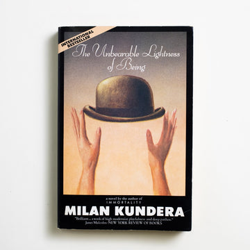 The Unbearable Lightness of Being by Milan Kundera, HarperPerennial, Trade Softcover from A GOOD USED BOOK.  1991 35th Printing Literature