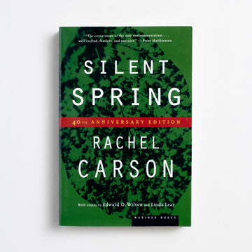 Silent Spring (40th Anniversary Edition) by Rachel Carson, Mariner Books, Trade Softcover from A GOOD USED BOOK. With