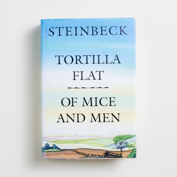 Tortilla Flat, Of Mice and Men (Book-of-the-Month Club) by John Steinbeck, Book-of-the-Month Club, Hardcover w. Dust Jacket from A GOOD USED BOOK.  1995 No Stated Printing Literature California