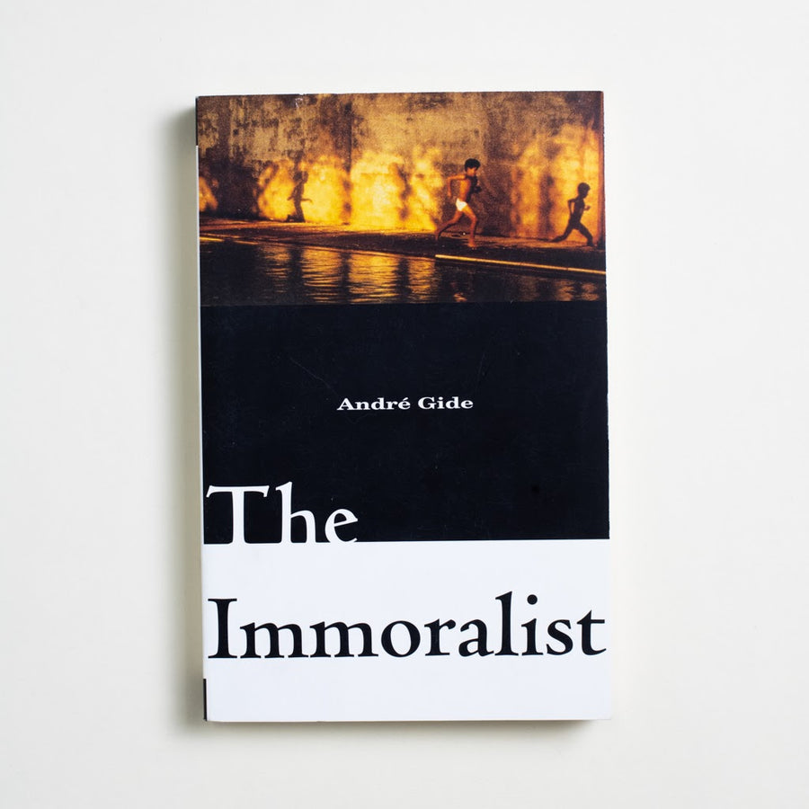The Immoralist (Trade) by Andre Gide, Vintage International, Trade Softcover from A GOOD USED BOOK.  1996 9th Printing Literature