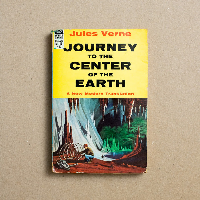 Journey to the Center of the Earth by Jules Verne, Ace Books, Paperback from A GOOD USED BOOK.
