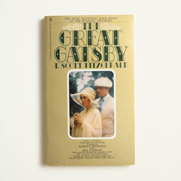 The Great Gatsby Movie Tie-In by F. Scott Fitzgerald, Bantam Books, Paperback from A GOOD USED BOOK.