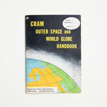 Outer Space and World Globe Handbook by Uncredited , The George F. Cram Company, Inc., Small Booklet from A GOOD USED BOOK.  1975 No Stated Printing Non-Fiction