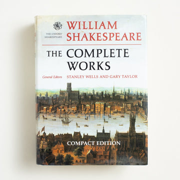 The Complete Works (Compact Edition) by William Shakespeare, Oxford University Press, Large Hardcover w. Dust Jacket from A GOOD USED BOOK.  1991 No Stated Printing Classics