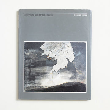 Anselm Kiefer by Paul Maenz, Vertrieb, Oversize Hardcover w. Dust Jacket from A GOOD USED BOOK. A German mixed media artist, Anselm Kiefer worked with materials that ranged from straw to clay and from ash to lead. Through these,  he often faces his culture's dark past head on. 1986 No Stated Printing Art