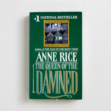 The Queen of the Damned by Anne Rice, Bantam Books, Paperback from A GOOD USED BOOK.  1992 7th Printing Genre