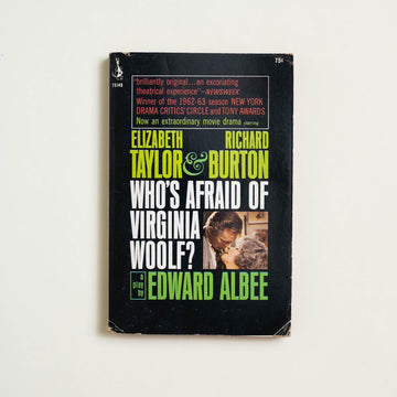 Who's Afraid of Virginia Woolf (Pocket Movie Tie-in) by Edward Albee, Pocket Books, Paperback from A GOOD USED BOOK.