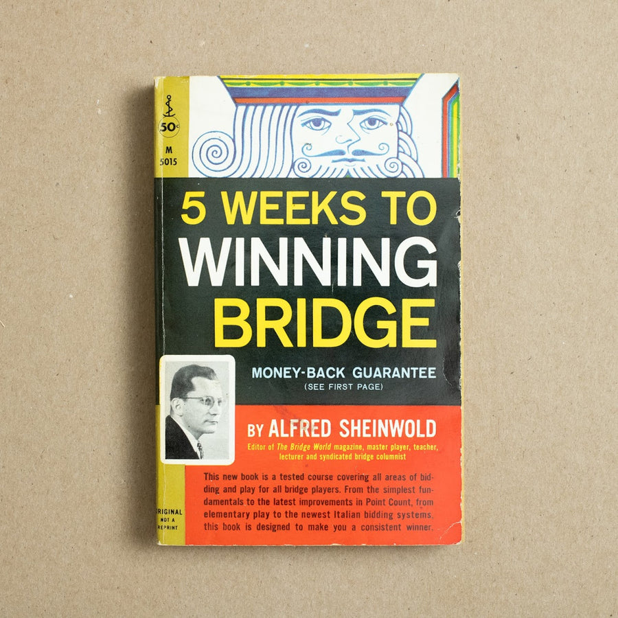 5 Weeks to Winning Bridge by Alfred Sheinwold, Perma Books, Paperback from A GOOD USED BOOK.