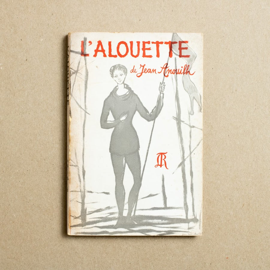 L'alouette by Jean Anouilh, Paris Book Center, Trade Softcover from A GOOD USED BOOK.