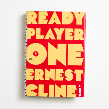 Ready Player One (Hardcover) by Ernest Cline, Crown Publishers, Hardcover w. Dust Jacket from A GOOD USED BOOK. Published in 2011 but set in a dystopian 2045, this was Ernest Cline's monumental science  fiction debut - a startling and familiar world  of climate catastrophe and virtual reality. 2011 No Stated Printing Genre Young Adult, readingbrb
