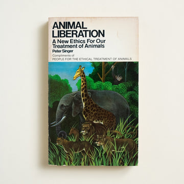 Animal Liberation: A New Ethics For Our Treatment of Animals by Peter Singer, Avon Books, Paperback from A GOOD USED BOOK. Here is the famous moral philosopher on ethics and consumerism, on veganism and speciesism. 1977 1st Avon Printing Culture Nature