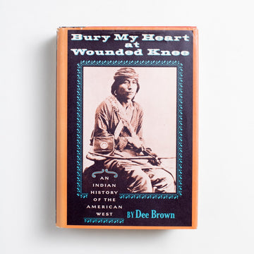 Bury My Heart at Wounded Knee (Hardcover) by Dee Brown, Holt, Rinehart and Winston, Large Hardcover w. Dust Jacket from A GOOD USED BOOK. First published in 1970, this important work of nonfiction by Dee Brown exposed many of the wrongdoings by the American people on Indigenous populations in the West. 1971 2nd Printing Non-Fiction Identity