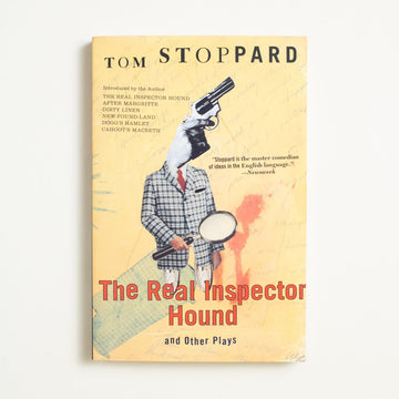 The Real Inspector Hound and Other Plays by Tom Stoppard, Grove Press, Trade Softcover from A GOOD USED BOOK.  1998 4th Printing Literature