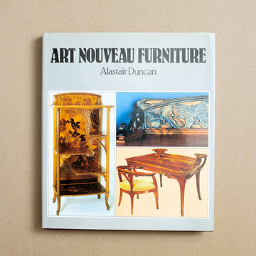 Art Nouveau Furniture by Alastair Duncan, Thames and Hudson, Hardcover w. Dust Jacket from A GOOD USED BOOK.