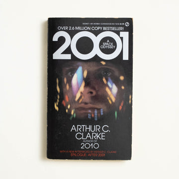 2001: A Space Odyssey by Arthur C. Clarke, Signet Books, Paperback from A GOOD USED BOOK.