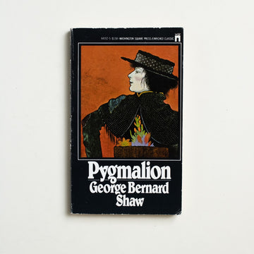 Pygmalion by George Bernard Shaw, Washington Square Press, Paperback from A GOOD USED BOOK. Shaw's most popular play, it is equally  beloved as the inspiration behind the popular musical and film,