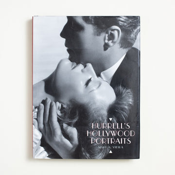 Hurrell's Hollywood Portraits by Mark A. Vieira, Harry N. Abrams, Large Hardcover w. Dust Jacket from A GOOD USED BOOK. George Hurrell's eye was one that defined the  historic look of Hollywood. Jean Harlow, Joan Crawford, Humphrey Bogart, Greta Garbo! 1997 No Stated Printing Art Hollywood, California