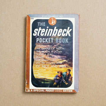 The Steinbeck Pocket Book by John Steinbeck, Pocket Books, Paperback from A GOOD USED BOOK.